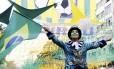 Festa na Rua Alzira Brandão começou cedo