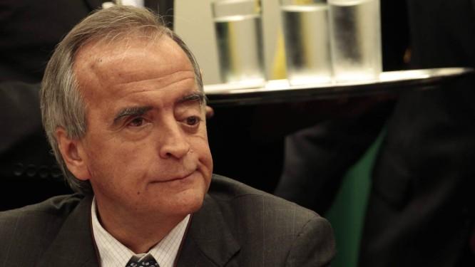 Ex-diretor da área internacional da Petrobras, Nestor Cerveró recebeu 'media training' de assessor de Dirceu Foto: Jorge William/16-04-2014 / Agência O Globo