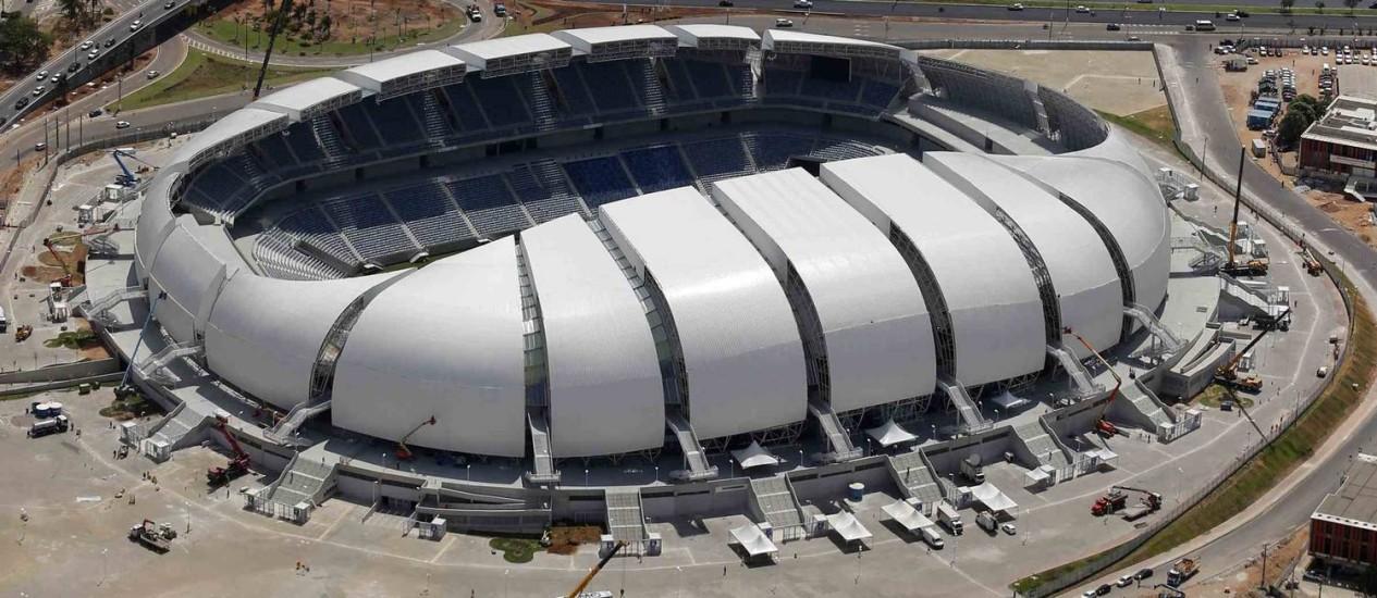 Arena das Dunas Foto: SERGIO MORAES / REUTERS
