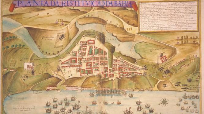 """Retomada. Visões da luta em """"La recuperación de Bahía"""", obra de Juan Bautista Maíno (1635) Foto: Reprodução de internet / REprodução"""