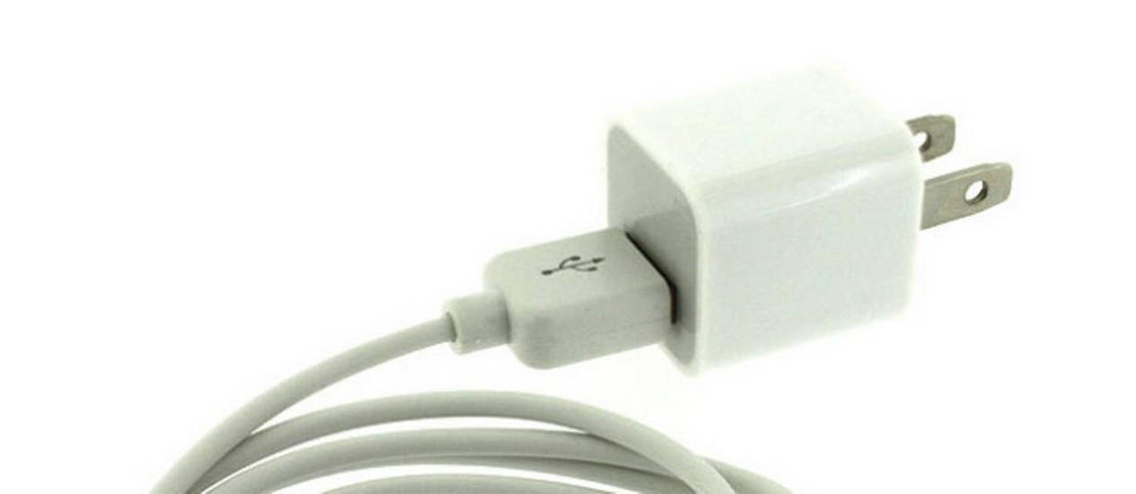 Milhões de carregadores com adaptador USB do iPhone serão substituídos pela Apple Foto: Reprodução