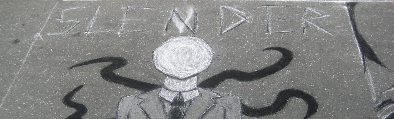 A figura longilínea e sem rosto de Slenderman evoluiu de forma colaborativa na web Foto: Reprodução