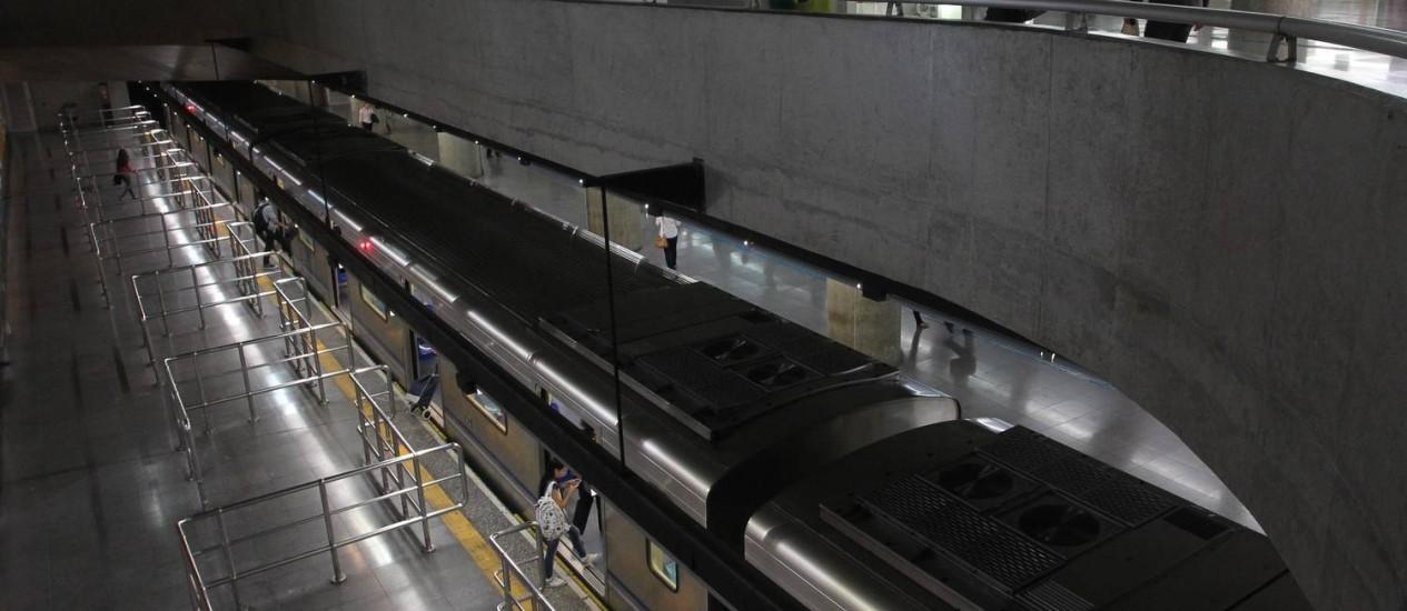 Estação da Sé fechada durante greve dos metroviários: Ministério do Trabalho autuou Metrô por demissão de 42 trabalhadores Foto: Marcos Alves/09-06-2014 / Agência O Globo