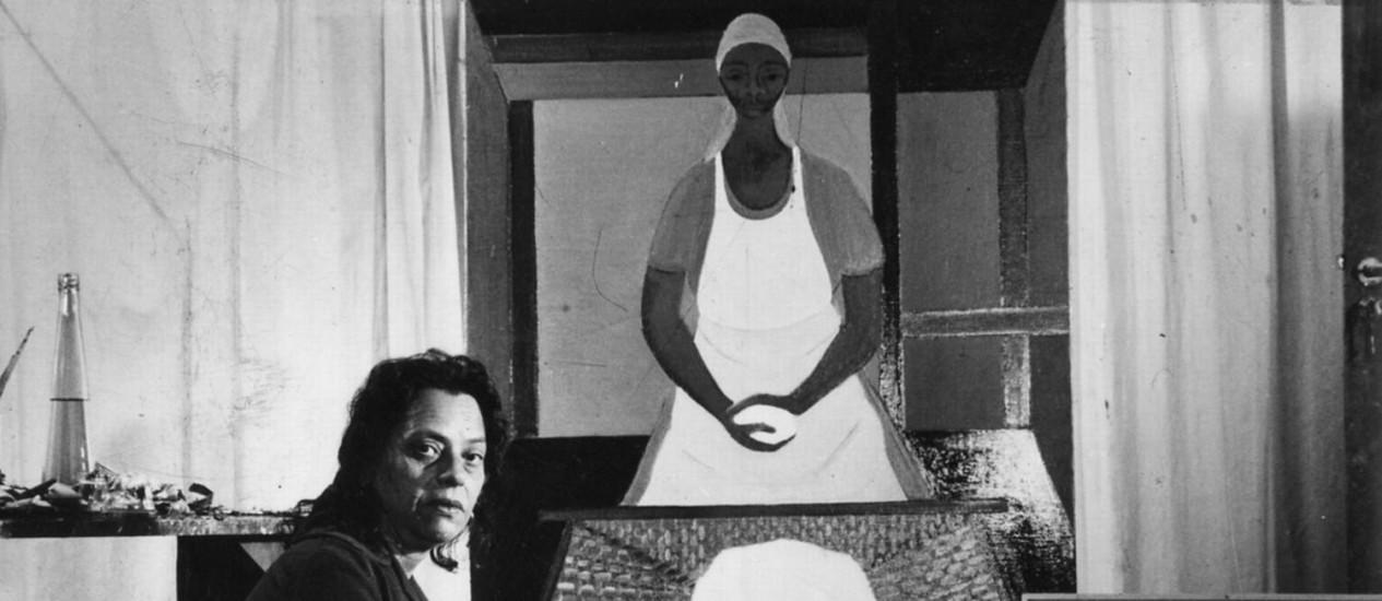 """Autodidata e convicta. A pintora em 1967: """"A maturidade não se força. Tudo o que fiz foi em lenta prepação. Graças a Deus não sou habilidosa"""" Foto: Reprodução"""
