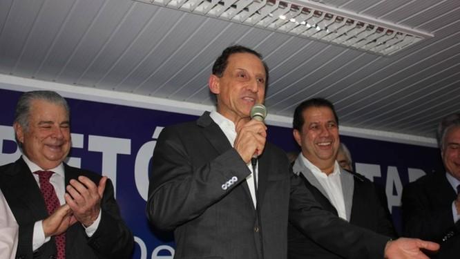 Paulo Skaf é confirmado como candidato do PMDB ao governo de SP Foto: Divulgação