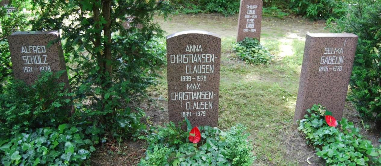 Cemitério de espiões em Berlim Foto: Graça Magalhães-Ruether