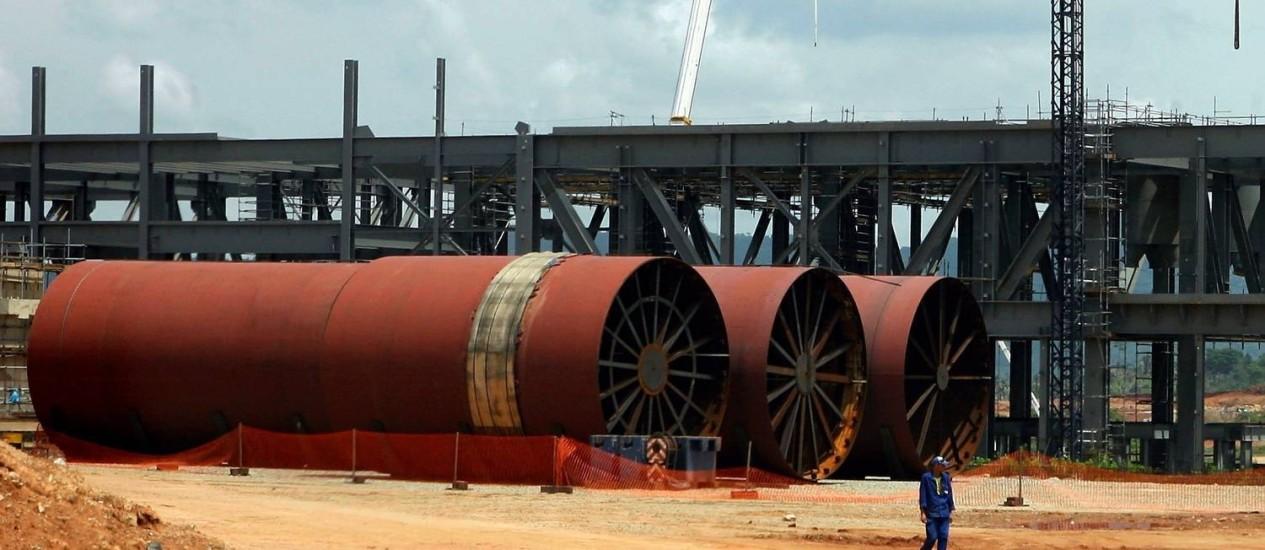 Unidade de níquel da Vale teve produção paralisada Foto: Michel Filho / Arquivo O GLOBO