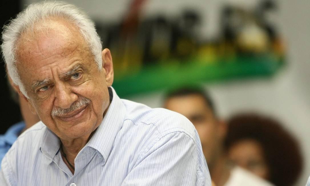 Senador peemedebista se aposenta após 65 carreira política Foto: Flávio Ilha/Agência O Globo