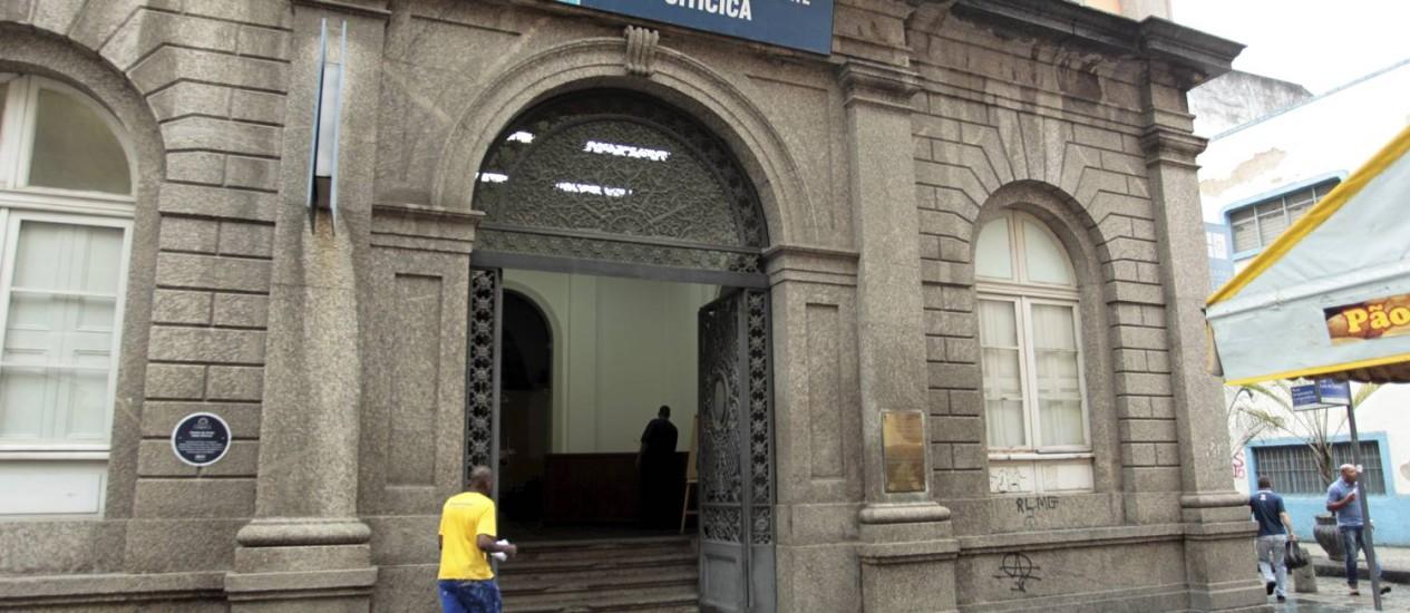 O Centro de Artes Hélio Oiticica integra o Circuito Tiradentes Foto: Marcelo Piu / Agência O Globo
