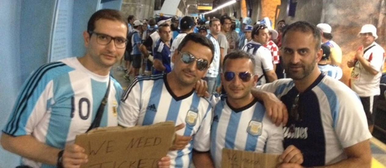 O gerente de finanças alemão Jacob Tok (à esquerda) Foto: Caio Barretto / Agência O Globo