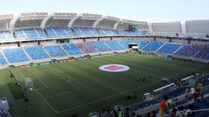 Arena das Dunas foi inaugurada em janeiro deste ano Foto: Nuno Guimarães/Agência O Globo