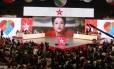 A presidente Dilma em mensagem gravada para campanha de Padilha ao governo de SP, no ano retrasado