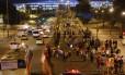 Torcedores deixam o Estádio do Maracanã após jogo entre Argentina e Bósnia