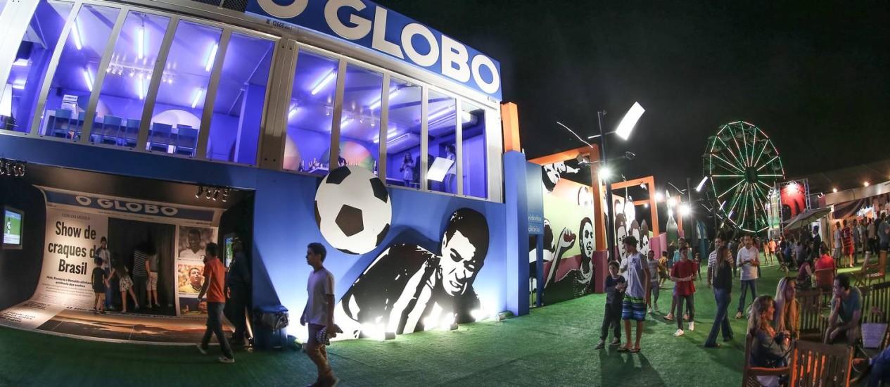 Até o dia 13 de julho, cariocas e visitantes têm endereço certo para a diversão na Casa O GLOBO Foto: Marco Sobral / Divulgação