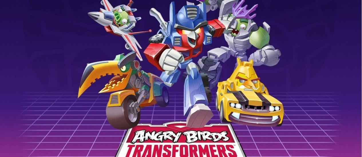"""""""Angry Birds Transformers"""" terá jogo com novos personagens Foto: Reprodução"""