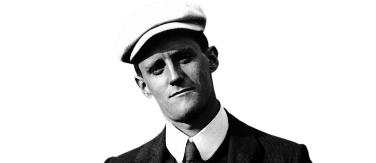 """O escritor irlandês James Joyce, autor de """"Ulysses"""": seus admiradores comemoram no dia 16 de junho o """"Bloomsday"""" Foto: C.P. Curran/Divulgação"""