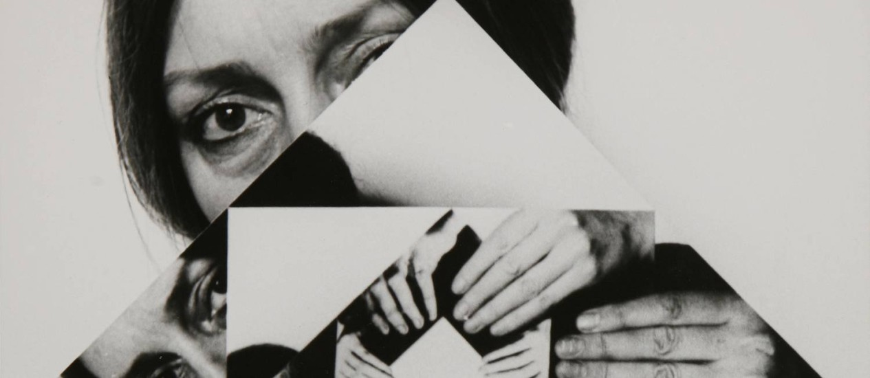 """Detalhe da obra """"Seven Twists"""" (1979), da húngara Dóra Maurer Foto: Divulgação"""