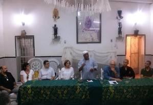 Contra o preconceito. Durante encontro, representantes religiosos decidem pela criação de novo grupo. Foto: Divulgação