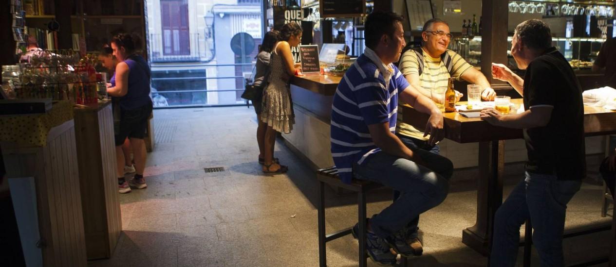 Espanhois gastaram 7,9% menos com álcool Foto: Angel Navarrete / Angel Navarrete/Bloomberg News