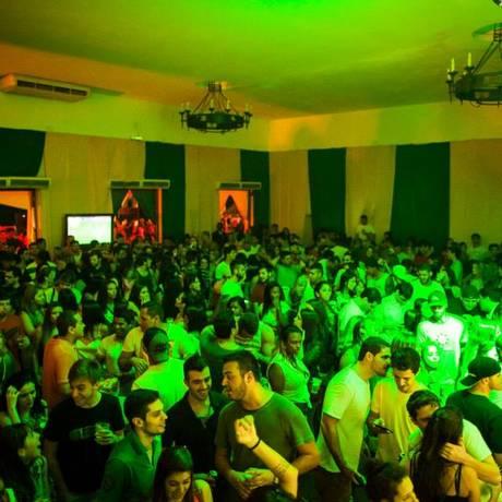 Na Arena Brahma há atrações para depois dos jogos, como a pista de dança Foto: Divulgação / Divulgação