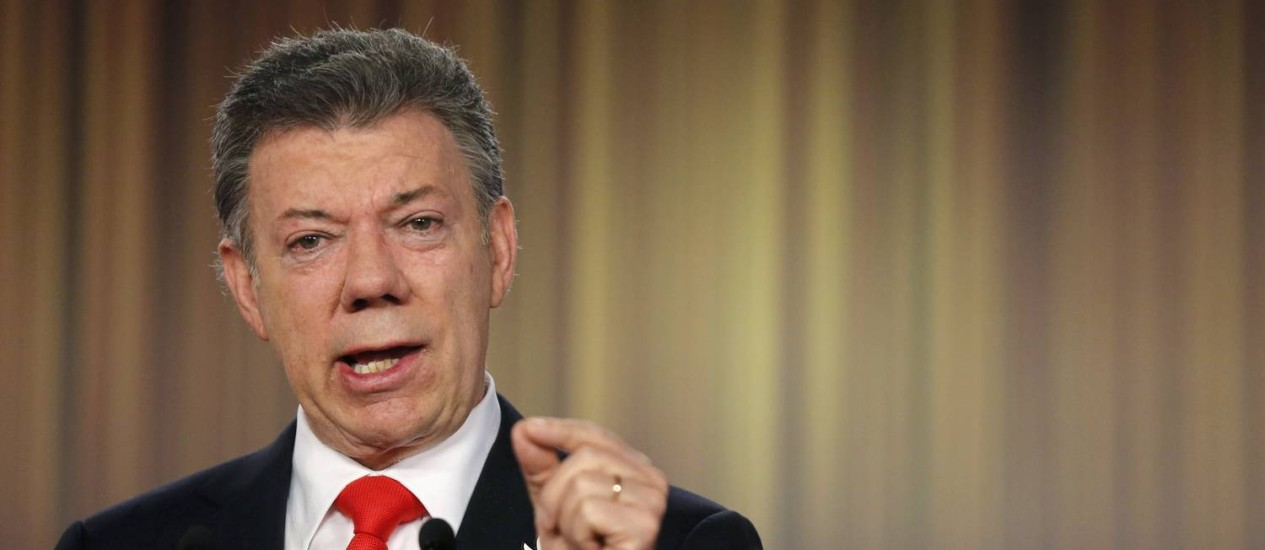 Juan Manuel Santos: presidente reeleito quer reformas no mandato Foto: JOHN VIZCAINO / REUTERS