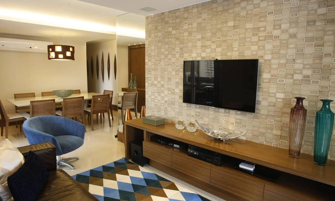 Sala De Star Com Tv ~ decoração que passa na televisão  Jornal O Globo