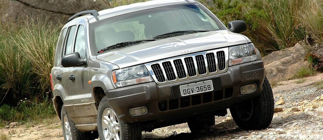 Jeep Cherokee: 221 unidades para recall Foto: Divulgação/Grand Cherokee