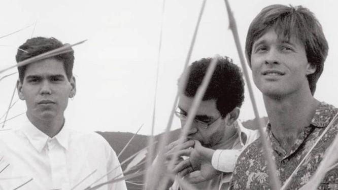 Dado Villa-Lobos, Renato Russo e Marcelo Bonfá Foto: Flávio Colker / Agência O Globo