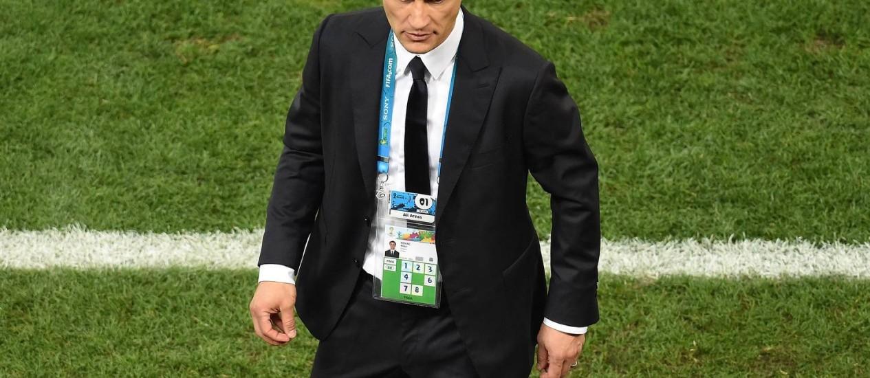 Com a Croácia sob pressão, Niko Kovac consegue reforços, mas craque Modric é dúvida Foto: FRANCOIS XAVIER MARIT / AFP