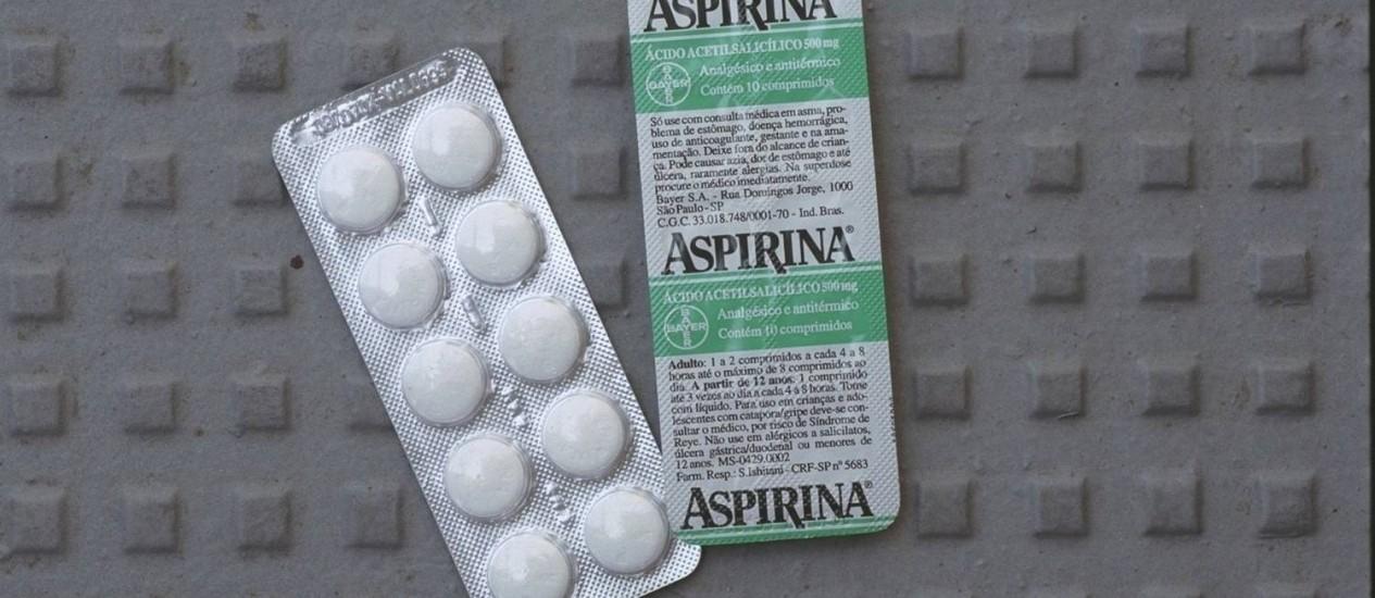 Aspirina não é mais recomendado para pessoas que possuem fibrilação atrial Foto: William de Moura