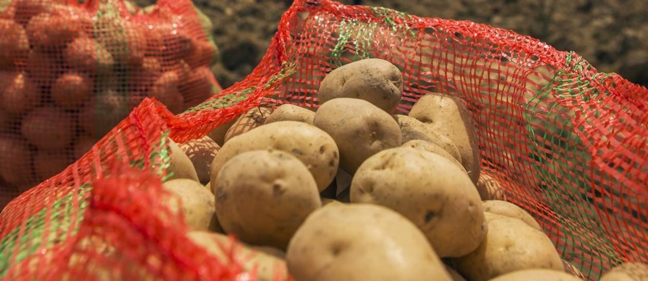 Batata: queda de 16,35% nos preços em junho, segundo o IPCA-15 Foto: Prashanth Vishwanathan / Bloomberg News