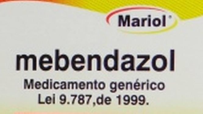 Mebendazol 20mg/ml, suspensão oral, foi um dos medicamentos suspensão: Anvisa diz que há problemas de qualidade Foto: Reprodução