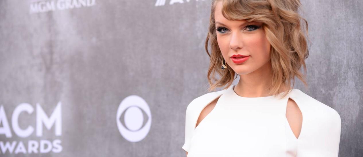 A cantora Taylor Swift Foto: AP