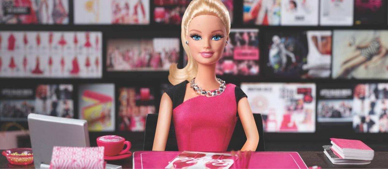 A nova Barbie empresária Foto: DIVULGAÇÃO / MATTEL