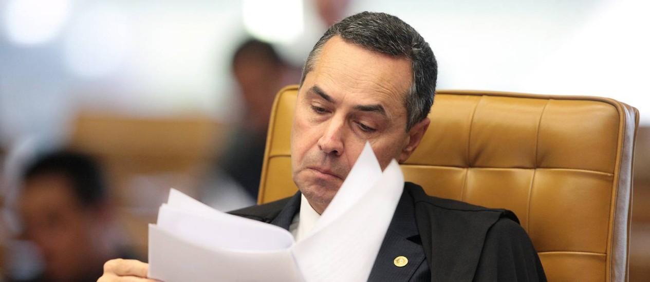 Luís Barroso é o novo relator do mensalão Foto: STF
