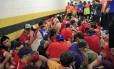 Torcedores chilenos detidos no Maracanã