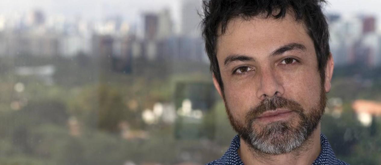 O diretor Cacau Rhoden, de 'Tarja branca' Foto: Divulgação