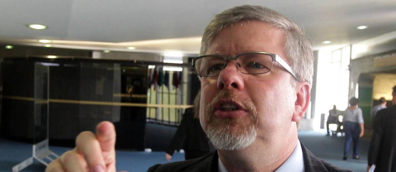 O deputado federal Marco Maia, relator da CPMI da Petrobras Foto: Ailton de Freitas / Agência O Globo