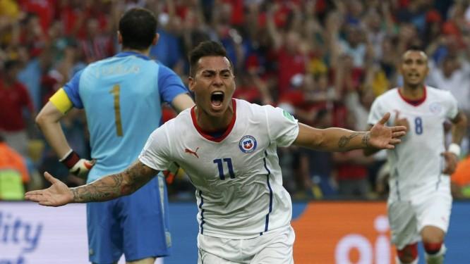 Chile vence por 2 a 0 e manda Espanha de volta para casa - Jornal O ... ebfa50e8e71e7