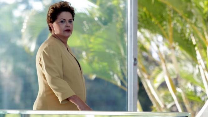 Presidente Dilma Rousseff no palácio do Alvorada Foto: Ailton de Freitas / O Globo