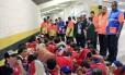 Torcedores chilenos detidos após invasão ao Maracanã