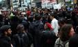 O Movimento Passe Livre voltou às ruas um ano após a revogação do aumento das passagens em São Paulo
