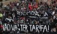 Movimento Passe Livre volta às ruas e reúne cerca de 1.300 manifestantes