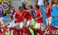 Mais de 20 jogadores suíços tem dupla nacionalidade