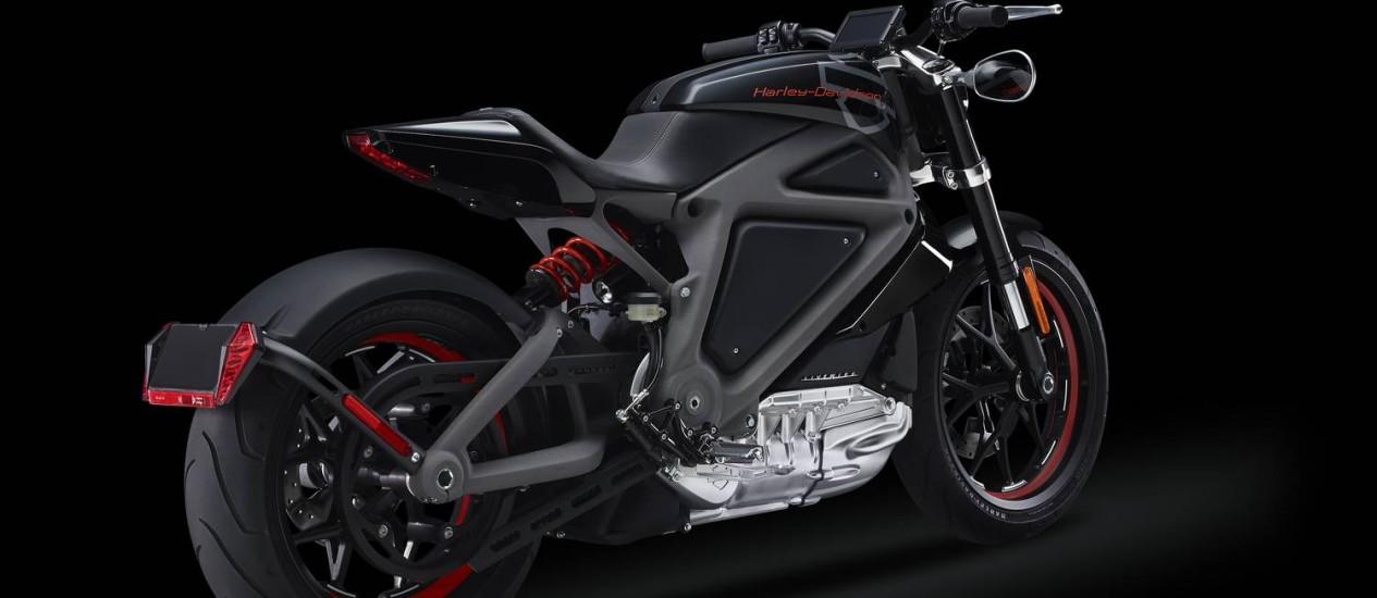 Harley-Davidson apresenta na próxima semana em evento em Nova York seu modelo elétrico Foto: Divulgação