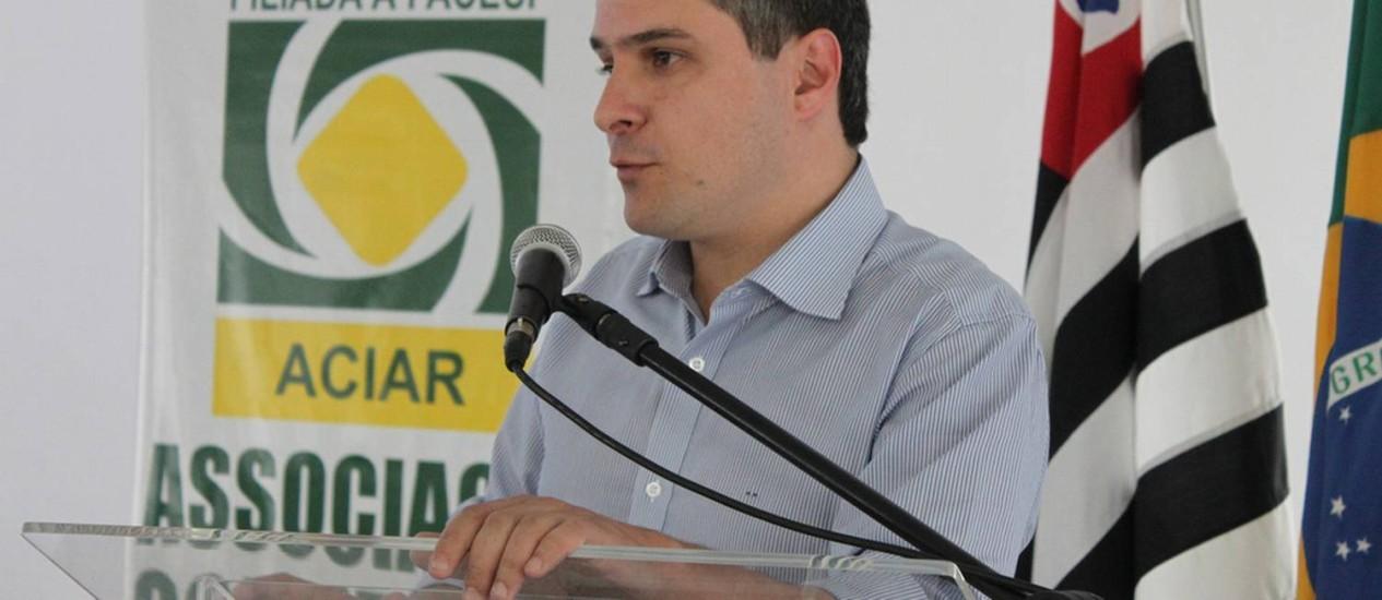 Alexandre Modonezi foi nomeado como diretor executivo do Procon-SP ontem. Ele seria o nome indicado pelo ex-deputado Celso Rusomanno Foto: Divulgação Ipem-SP
