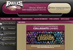 Universidade anuncia abertura de bolsas para alunos que desejam competir no League of Legends Foto: Reprodução