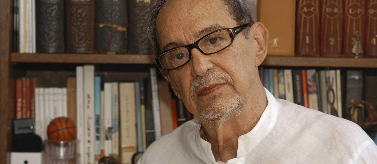 Bartolomeu Campos de Queirós ganhou diversos prêmios nacionais e internacionais e foi um dos fundadores do Movimento por um Brasil Literário Foto: Carlos Avelin/Divulgação/16-01-2012