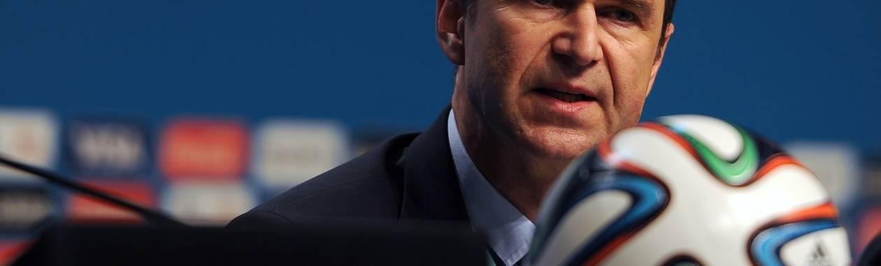Ralf Mutschke, diretor de segurança da Fifa Foto: AFP
