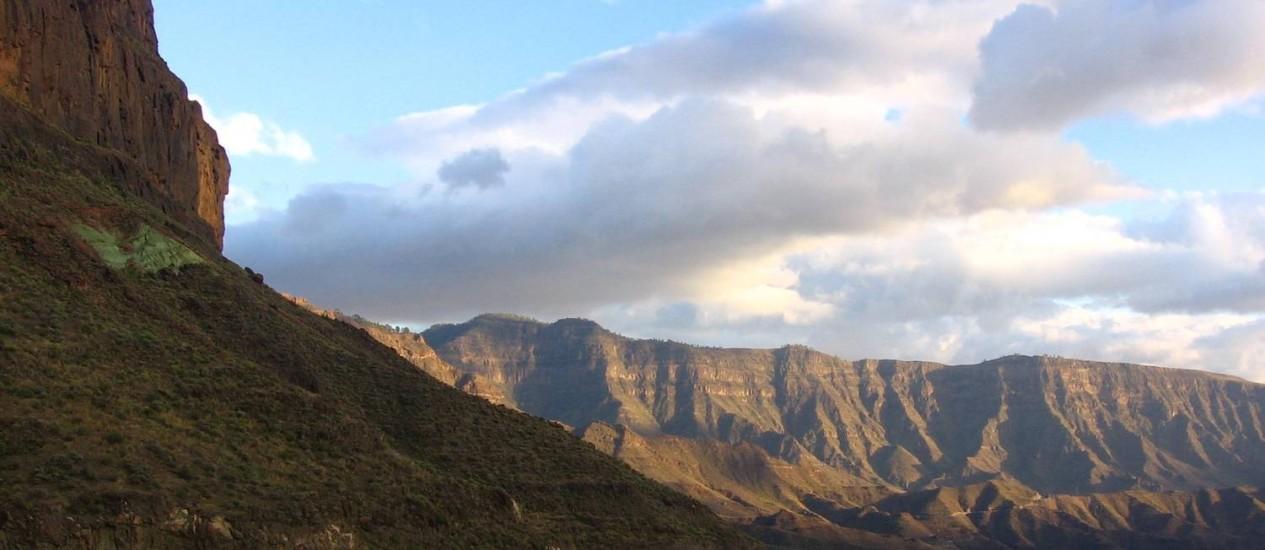 Montanhas em Gran Canaria Foto: Priscila Guilayn / BV